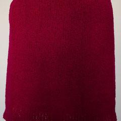 #510 Rock pink Bouclé. Umfang 78 cm, Länge 37 cm. 90% Schurwolle, 10% Nylon     135,-€