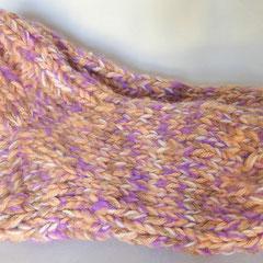 #408 Dicke DICKE Socken rosa, lachs, lila, hellbraun, 5 Fäden. Grösse 40/41. Polyacryl, Wolle, Mohair     38,-€
