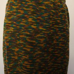 #499 Herbstfarben-Camouflage-Rock. Umfang 80 cm, Länge 44 cm. 50% Wolle, 50% Polyacryl     115,-€