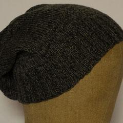 #516 Mütze Grautöne. Umfang ~ 54 cm. 50% Baumwolle, 50% Polyamid     28,-€