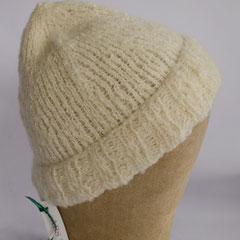 #154 Mütze für kleine Köpfe. Umfang ~ 48-50 cm. 47% Wolle, 47% Polyacryl, 6% Polyester     35,-€