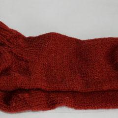 #187 Socken weinrot. Grösse 37/38. 100% Schurwolle     28,-€