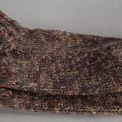 #189 Socken lilalig. Grösse 39/40. 100% Schurwolle     28,-€