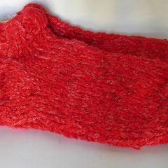 #397 Dicke DICKE Socken rot, 5 Fäden. Grösse 39/40. Wolle, Viskose, Polyester     38,-€