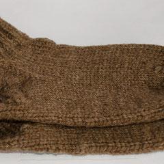 #190 Socken braun. Grösse 39. 100% Schurwolle     28,-€