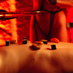 Naked Body Buffet - die Vorbereitungen - Fexa & Assistentinen - Foto Perpetua