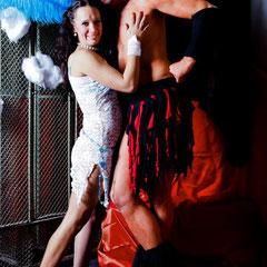 Dr Diva & Tabea in der Fotochamber - Foto Perpetua