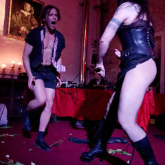 "Lady Lux & Dr Diva - Performance ""Frühlingserwachen""  Foto S. Nückel"
