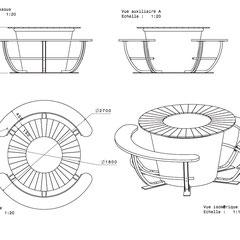 Projet de mobilier urbain - Transat en Ville
