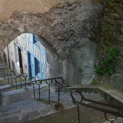 Escalier vieux mans cité plantagenet