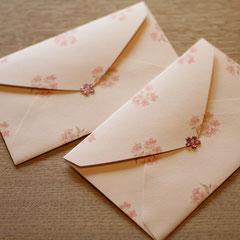 2名以上の時にはなるべくお手紙を書いています