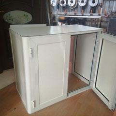 Mobiletti in alluminio per esterni - Copricaldaia - Copribombole