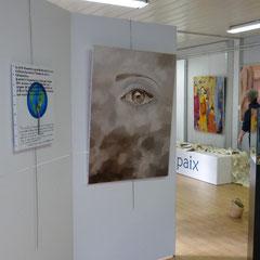 """Exposition d'oeuvres """"Nous sommes tous libres et...."""" - décembre 2013 à février 2014"""