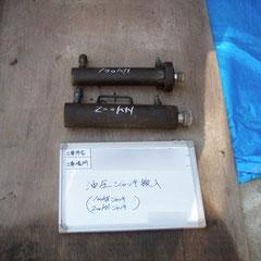 資機材搬入:電動油圧ジャッキ