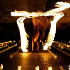 Fantômes de Flammes - Feuershows und Lightshows in Immenstadt im Allgäu