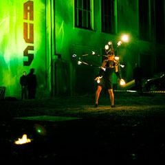 Fantômes de Flammes - Feuershows und Lightshows in Stuttgart
