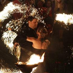 Fantômes de Flammes - Feuershows und Lightshows in Karlsruhe