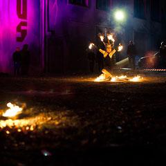 Fantômes de Flammes - Feuershows und Lightshows in Nürnberg