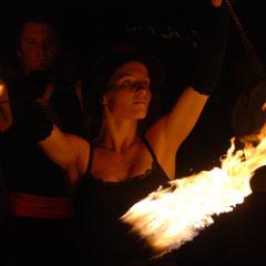 Fantômes de Flammes - Feuershows und Lightshows in Kaufbeuren im Allgäu