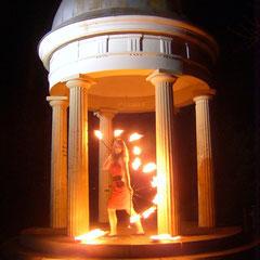Fantômes de Flammes - Feuershows und Lightshows in Ulm