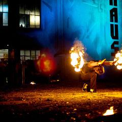 Fantômes de Flammes - Feuershows und Lightshows in Würzburg