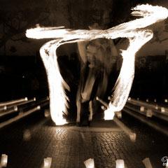 Fantômes de Flammes - Feuershows und Lightshows in Memmingen im Allgäu