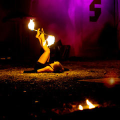 Fantômes de Flammes - Feuershows und Lightshows in Regensburg