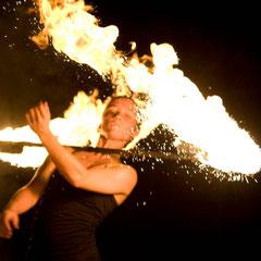 Fantômes de Flammes - Feuershows und Lightshows in Schwäbisch Gmünd