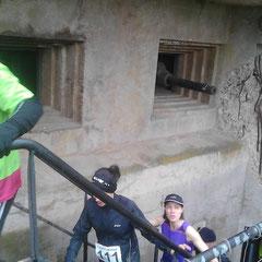 Passage des coureurs au Fort Casso.