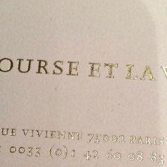 Restaurant La Bourse et la Vie by Daniel Rose 75002