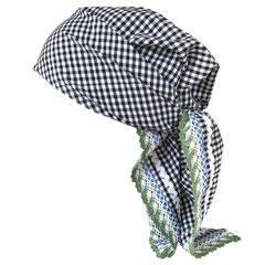 Maasa Dreieck Sommer Kopftuch 100% Baumwolle ca. 105x75x75cm