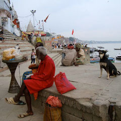 Varanasi, the holy river Ganges