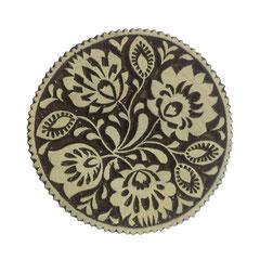 Indische Holzstempel  für Textildruck werden in der Schweiz entworfen und in Indien fair produziert