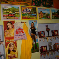 Zu Hause bei einer indischen Familie in Rajasthan