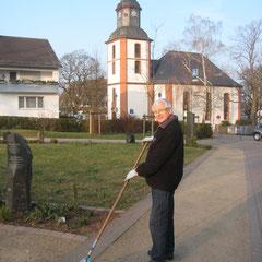 Kreisgärtnermeister Horst Claussen