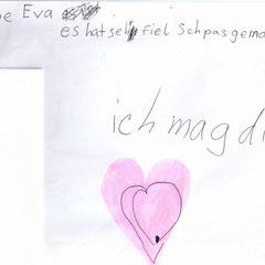 Eva ich mag Dich. KreativKlavier München