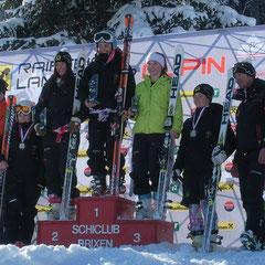 Katrin am 3. Rang des RS in Brixen im Thale