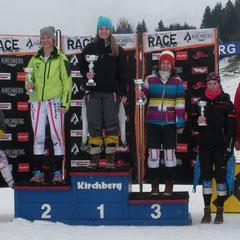 1. Rang - Katrin Hinterholzer / 4. Rang - Magdalena Schwaiger