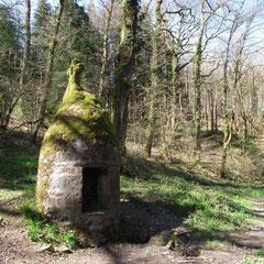 Forêt d'Andaine : le puits de la Chapelle Saint-Antoine
