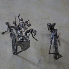Jésus rencontre les femmes de Jérusalem qui pleurent