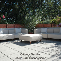 Outdoor Garnitur Lounge Möbel
