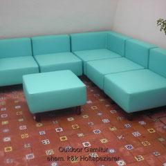 Lounge Möbel Outdoor Garnitur