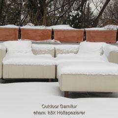 Outdoor Lounge Garnitur wetterfest