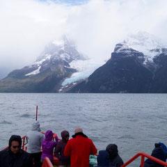 Der Balmaceda-Gletscher als Motiv