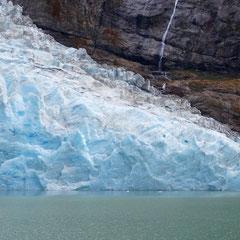 Der Serrano-Gletscher