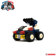 Blocks World Police Justice Vanguard (Riot Car K36A-5)