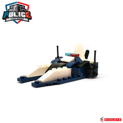 Blocks World Police Justice Vanguard (Assault Boat K36A-4)