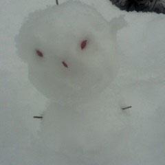 ①「ちょんぼし雪だるま」 ②ジャグラー