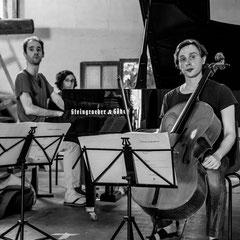 La répèt du trio Atanassov