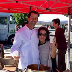 Chef James Laird of Restaurant Serenade w/Karen Schloss